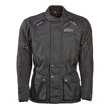 BIKEZONE s 4015-54 Toronto-XL veste blouson noir (taille :  XL