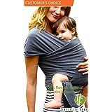 Simply Life Baby Wrap (Gray) (Color: Gray, Tamaño: Large)