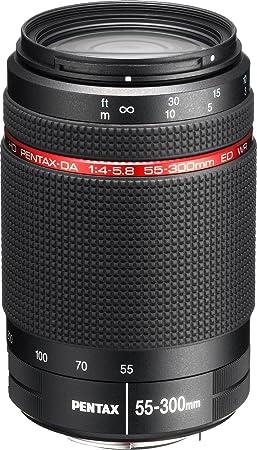 Pentax Objectif HD DA 55-300mm F4-5.8 ED WR - Noir