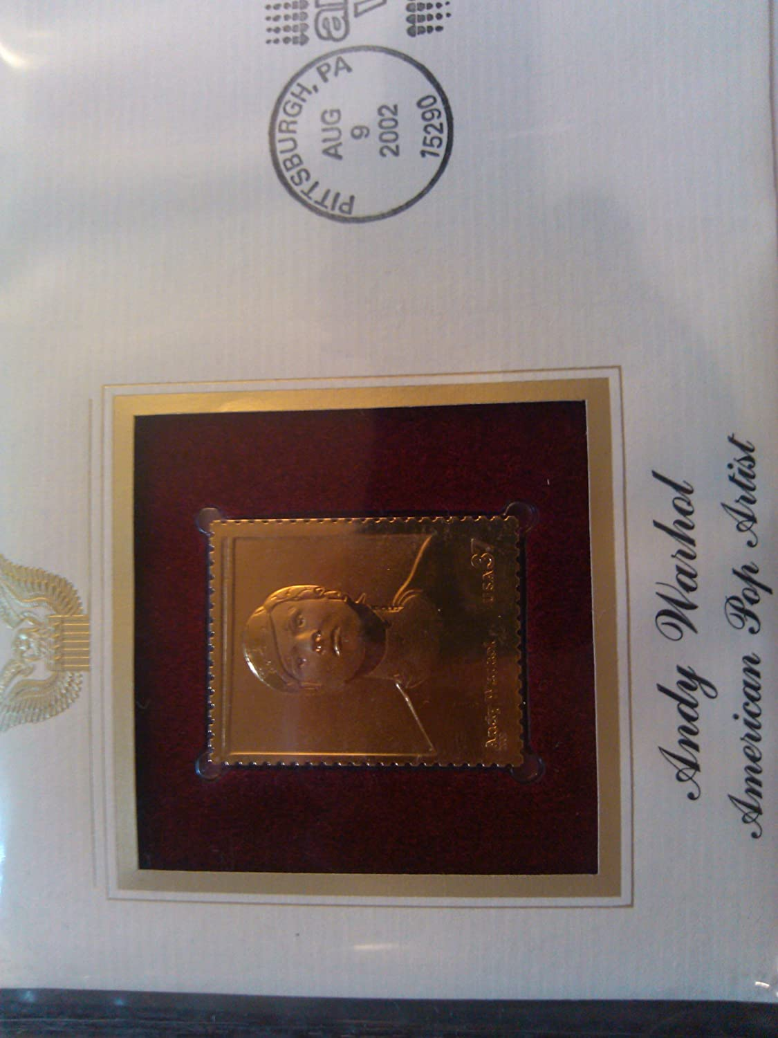 Gold Replica Stamps Stamps Proof Replicas on