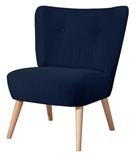 Max Winzer 2791-1100-1644808 Sessel Lara, Einzelsessel, Flachgewebe blau