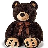 Huge Teddy Bear - Dark Brown (Color: Dark Brown, Tamaño: X-LARGE)