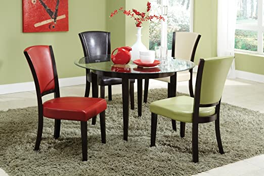Coaster Home Furnishings Casual Dining Table Base, Espresso