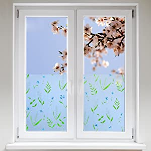 Artefact® Dekofolie / Fensterfolie Fruehling | statisch haftend (ohne Kleber) | verschiedene Größen  BaumarktÜberprüfung und weitere Informationen