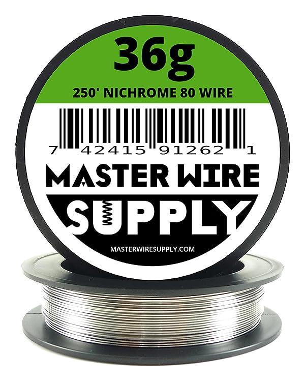 Nichrome 80 - 250' - 36 Gauge Resistance Wire