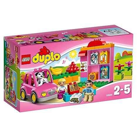 Lego Duplo Ville - 10546 - Jeu De Construction - Le Supermarché