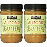 Kirkland Signature - Creamy Almond Butter, 27 Ounce - 2 Jars (Tamaño: 2 Jars)