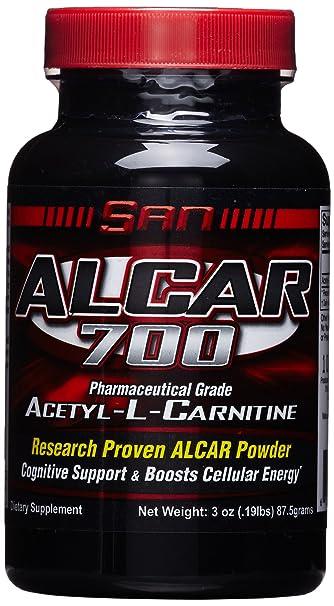 San Alcar 700 L-Carnitine, 1er Pack (1 x 87 g)