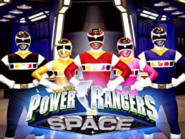 Power Rangers In Space Season 1