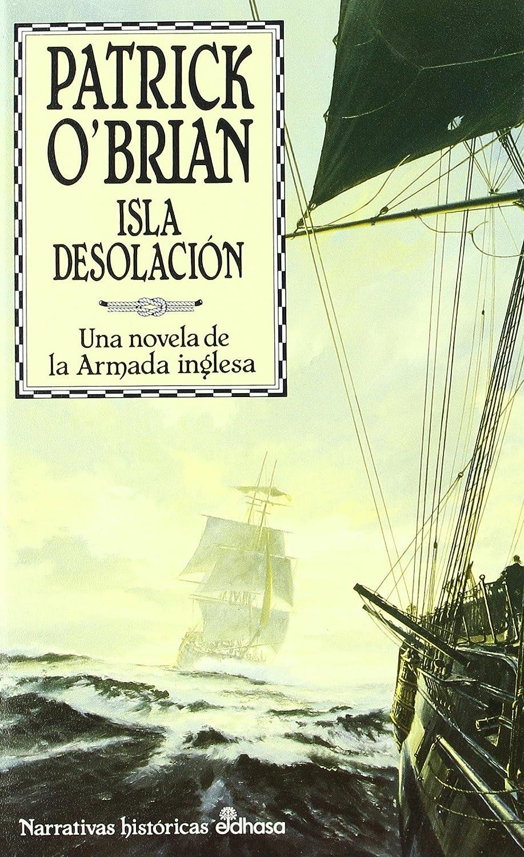 Portada libro Isla Desolación