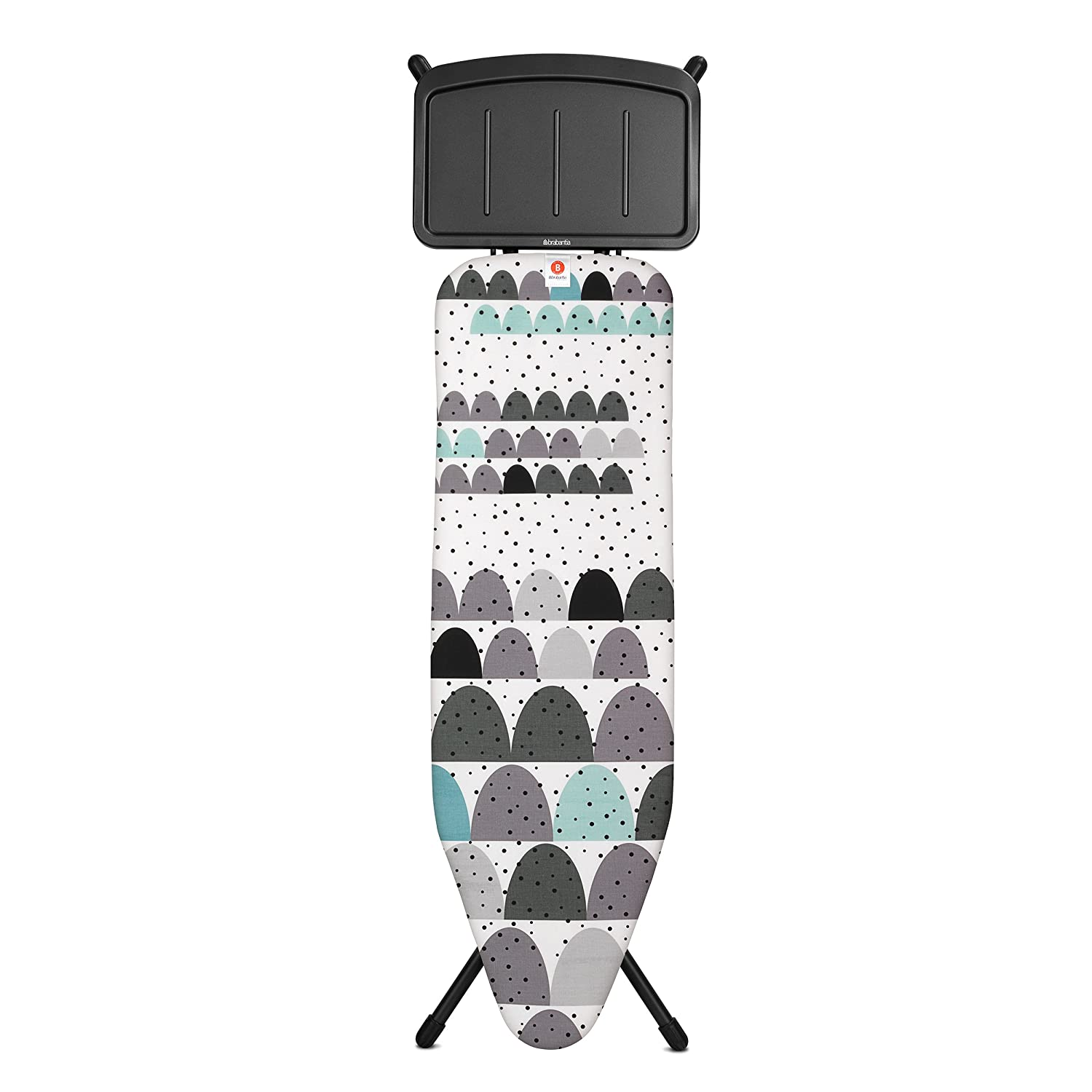 brabantia-ironing-board-b-124x38cm-iron-parking-zone-steel-frame-22mm-dunes-black-103506
