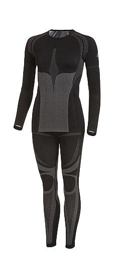 Sport de Fonction professionnel Parure-Homme & Femme Seamless Set (Chemise + Pantalon) de Medico-& isotherme haut de sous-vêtement fonctionnel-coutures discrètes avec élasthanne, élast