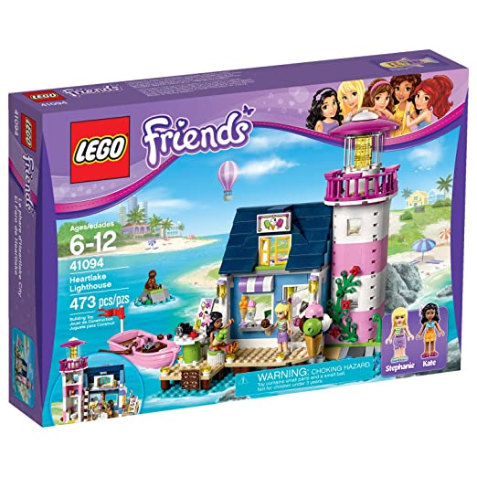 This is on my Wish List: LEGO Friends 41094 Heartlake Lighthouse: Toys & Games