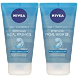 Nivea Visage Daily Essentials Refreshing Facial Wash Gel - Normal & Combination Skin 150ml/5.07 oz (Set of 2)