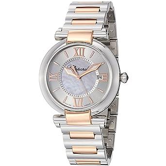 Chopard Women's 388532-6002 Imperiale Two Tone Silver Dial Watch