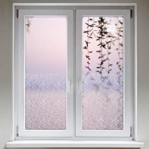 Artefact® Dekofolie / Fensterfolie Struktur Kaestchen | statisch haftend (ohne Kleber) | verschiedene Größen  BaumarktÜberprüfung und Beschreibung
