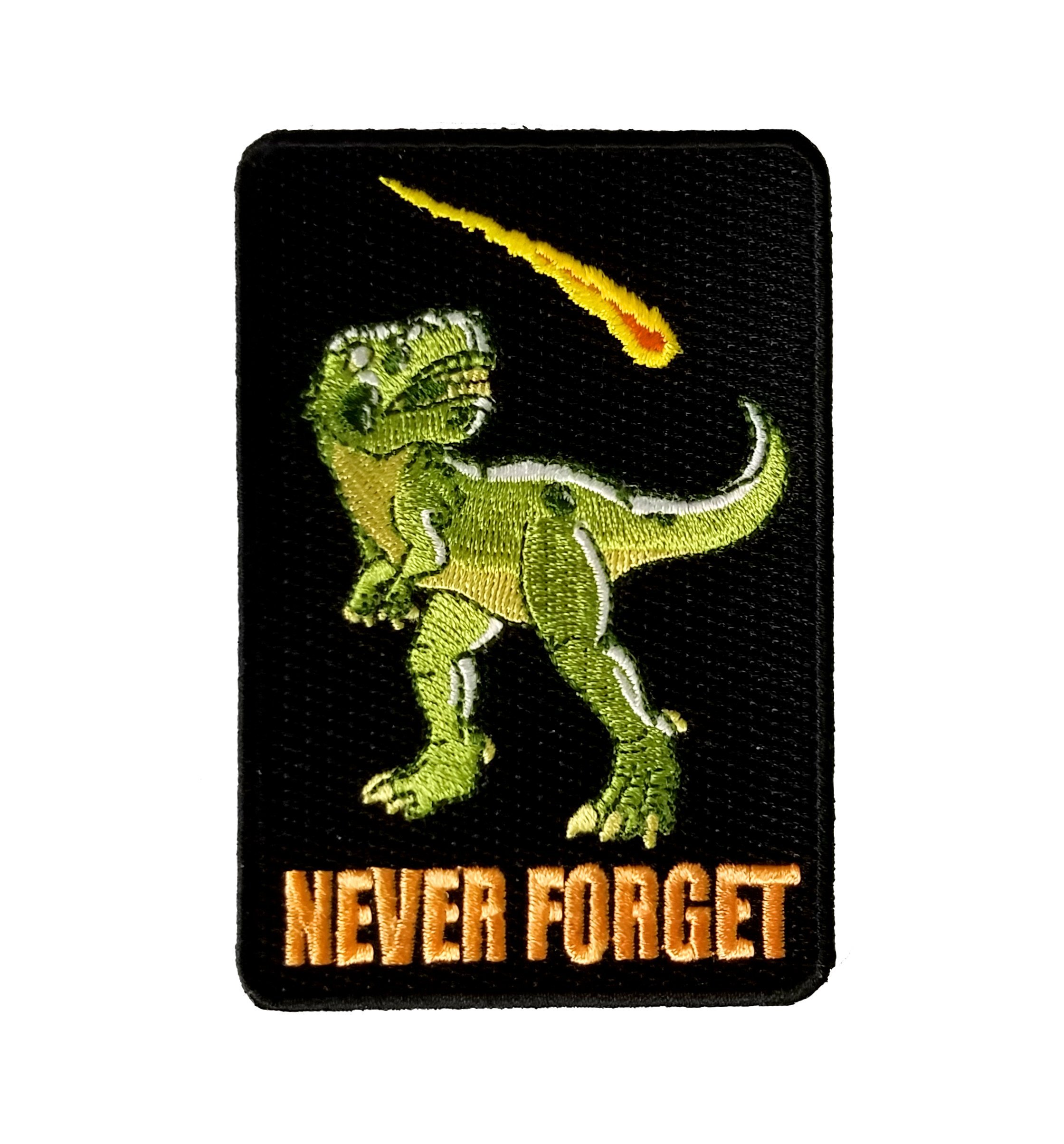 Dinosaur Never Forget Patch