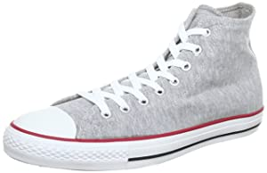 Converse Chuck Taylor All Star HI SWEAT GRY/RD/BLK, Haut adulte mixte   passe en revue plus d'informations