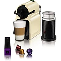 Magimix 11361 M105 Nespresso Inissia Coffee Machine with Aeroccino (Cream)