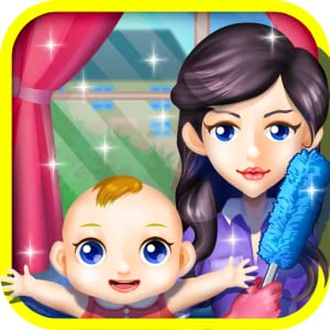 Mommy's Little Helper - born Baby Room Cleaning game by 6677g ltd