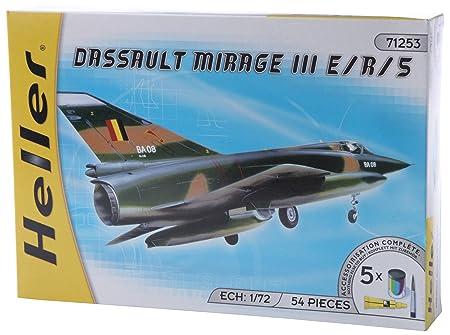Heller - 50323 - Maquette - Avion - Echelle 1/72 - Dassault Mirage III E/R/5
