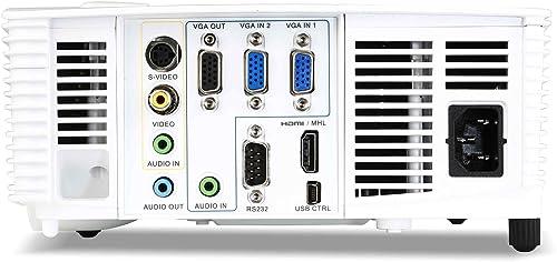 Acer H5380BD - hinten