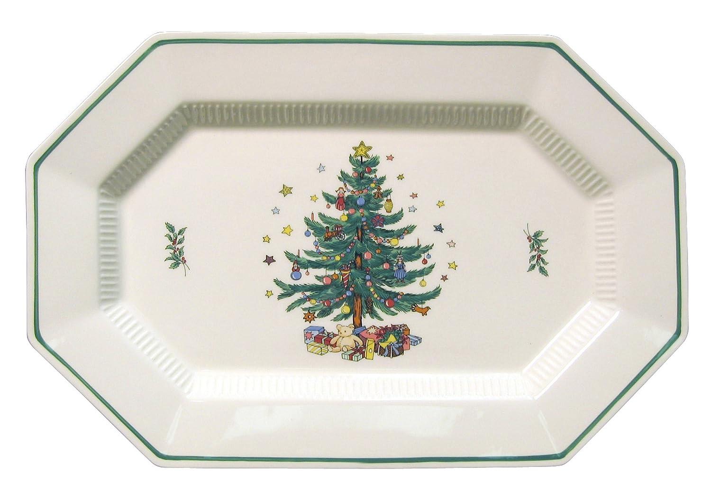 Christmas Trees Serving Platters   Christmas Wikii