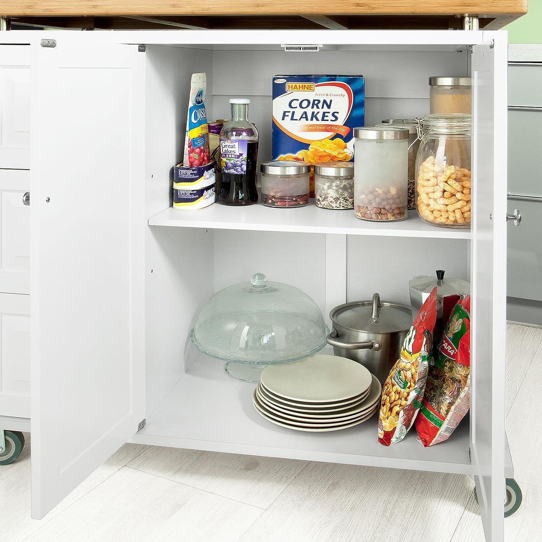 Zubehör zu SoBuy Luxus-Küchenwagen,Kücheninsel, Küchenschrank ...