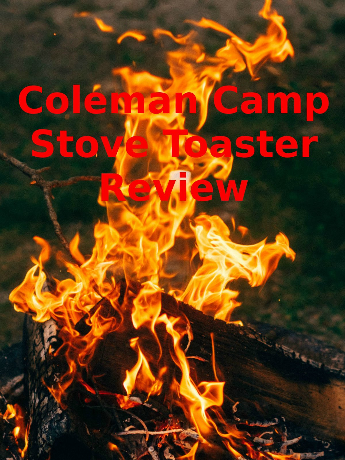 Review: Coleman Camp Stove Toaster Review on Amazon Prime Video UK