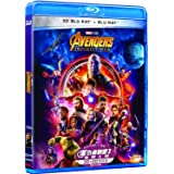 Avengers: Infinity War 2D + 3D (Region A Blu-Ray) (Hong Kong Version / English Language. Mandarin Dubbed) ?????3: ????
