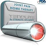 TENDLITE Advanced Pain Relief FDA Cleared - Red Led Light Therapy Device - Joint & Muscle Reliever MEDICAL GRADE (Color: Stainless Steel, Tamaño: 4.8 x 1 inches)