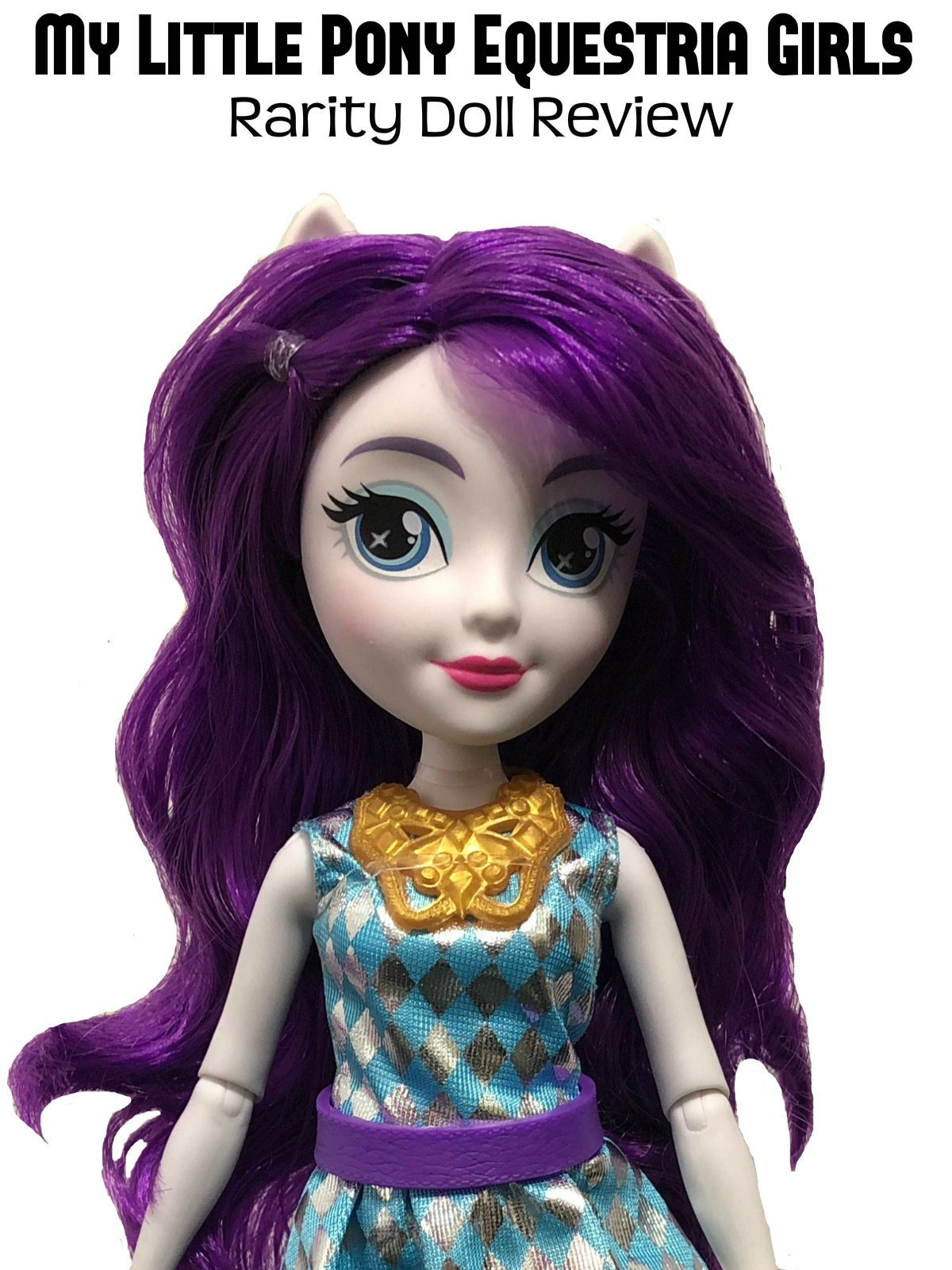 Review: My Little Pony Equestria Girls Rarity Doll Review on Amazon Prime Instant Video UK