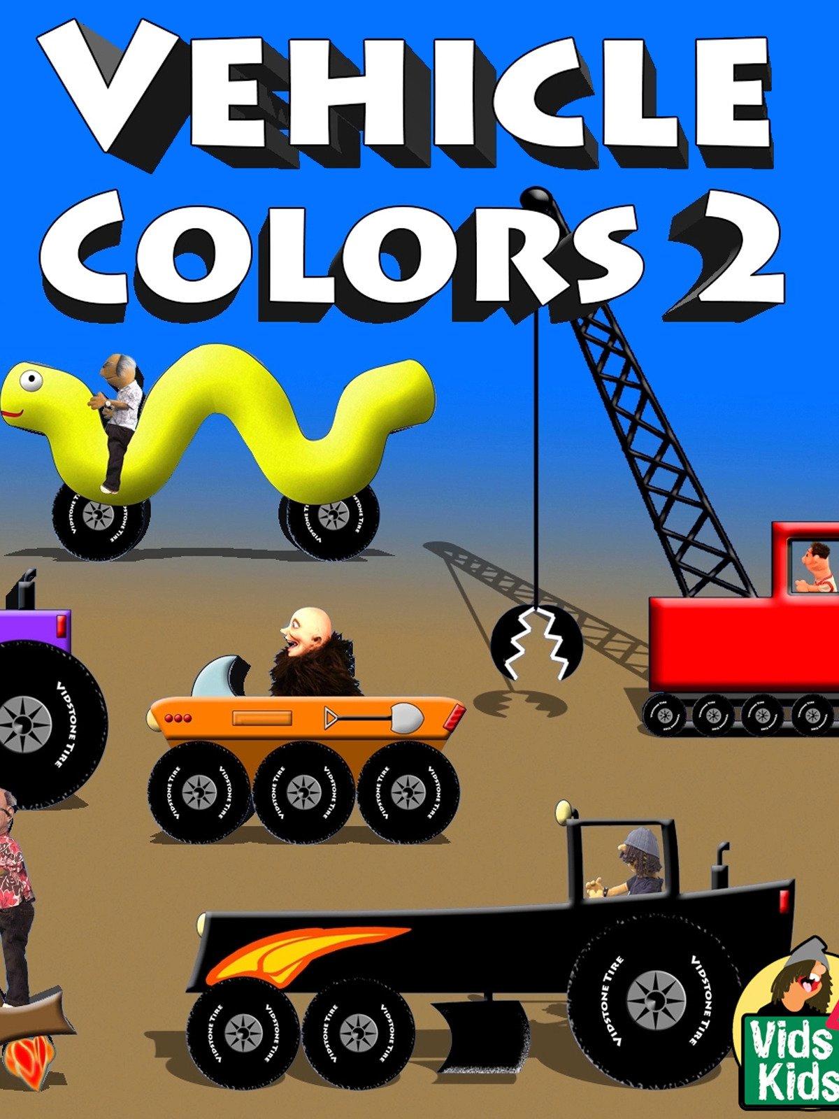 Vehicle Colors 2 on Amazon Prime Video UK