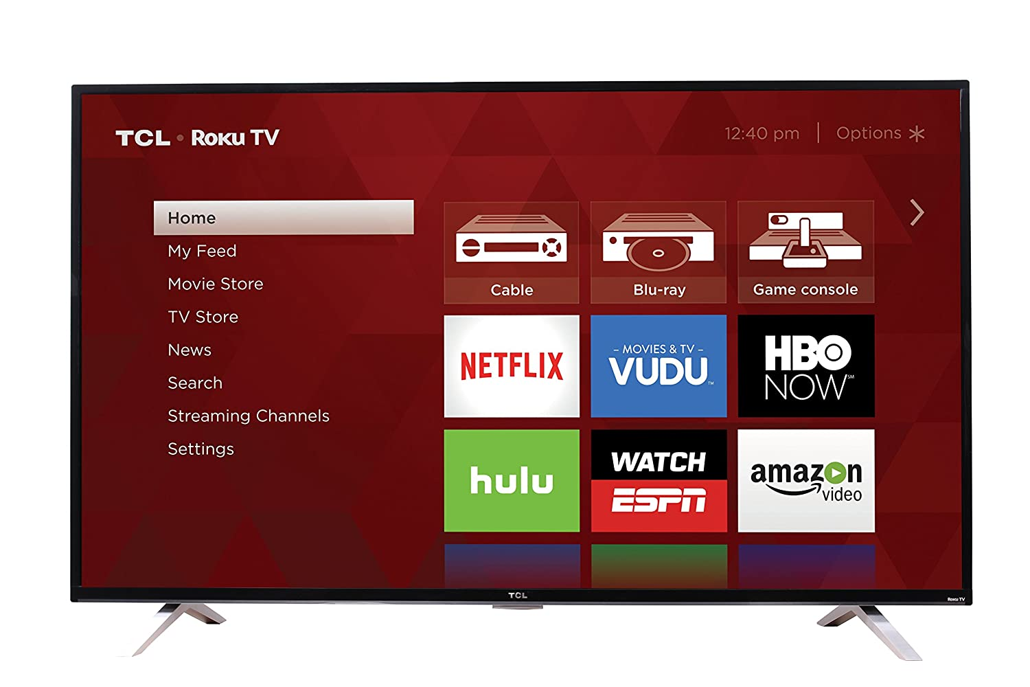 TCL 65US5800 65-Inch 4K Ultra HD Roku Smart LED TV (2016 Model)