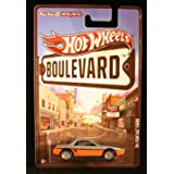 Gray & Orange '84 PONTIAC FIERO Hot Wheels Boulevard Series 1:64 Scale Collectible Car with Real Riders