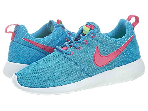 blue and pink roshe run