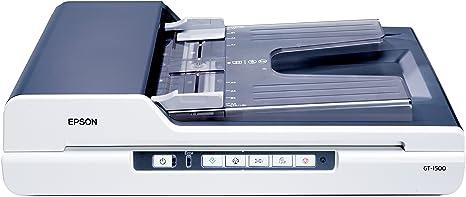 Epson GT 1500 Scanner à plat Legal 1200 ppp x 2400 ppp Chargeur automatique de documents ( 40 feuilles ) Hi-Speed USB
