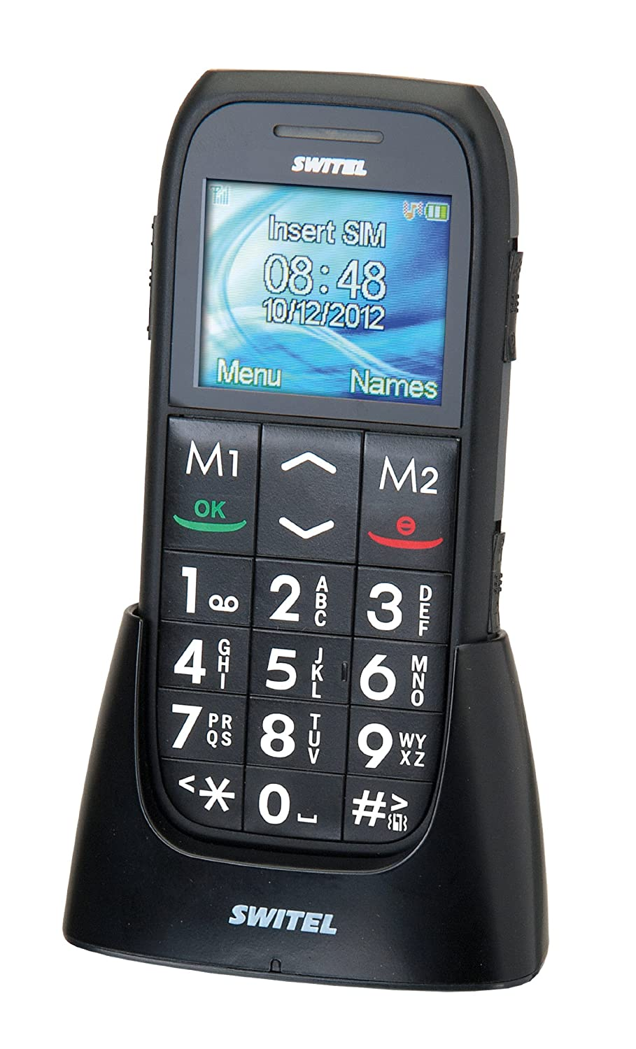 T�l�phone GSM SWITEL M130 NOIR