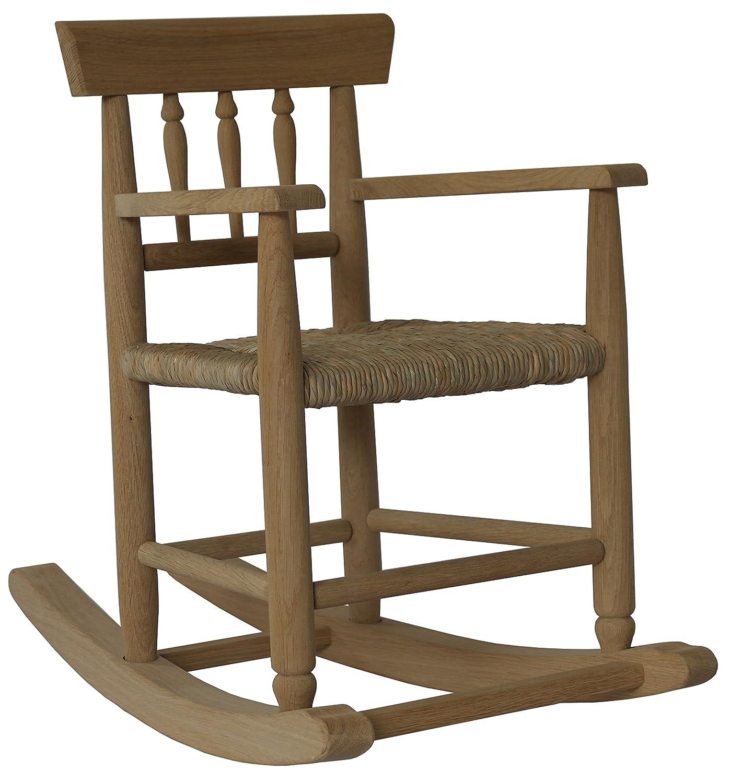 Kinderstuhl aus Holz, Schaukelstuhl