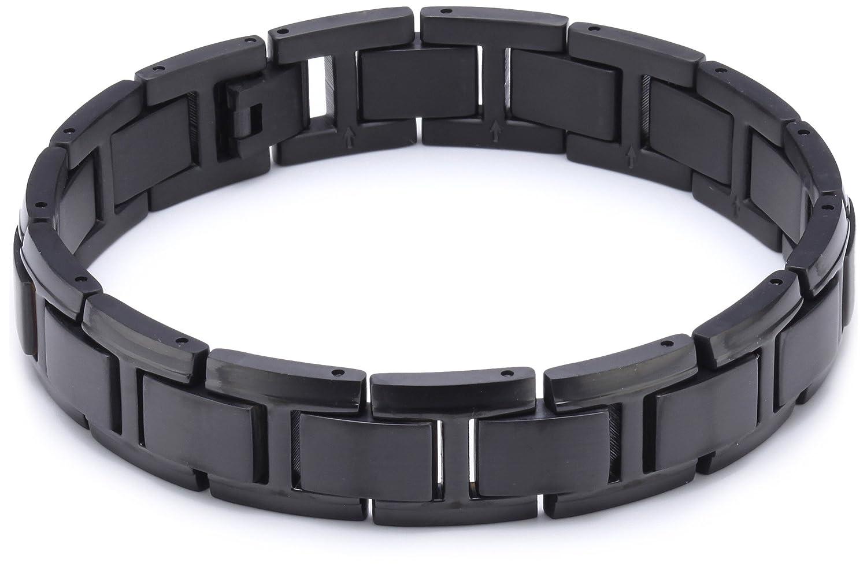 Boccia Unisex-Armband Titan schwarz 0337-04 günstig bestellen
