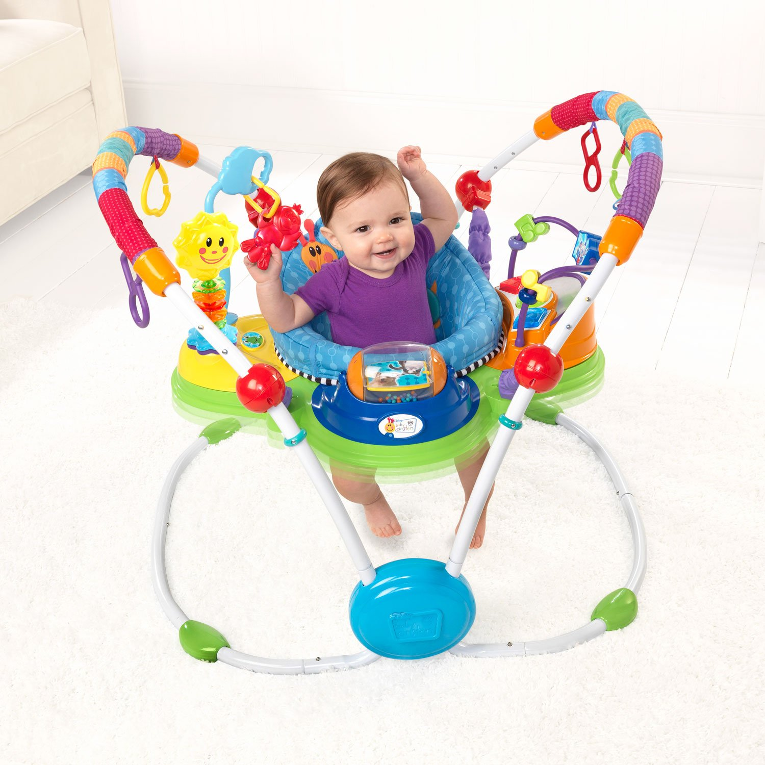 Baby einstein activity saucer jumper for Porte bebe toys r us