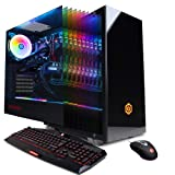 CYBERPOWERPC Gamer Supreme Liquid Cool SLC10200CPG Gaming PC (Intel i9-9900K 3.6GHz, 16GB DDR4, NVIDIA GeForce RTX 2070 8GB, 1TB SSD, WiFi & Win 10 Home) Black (Color: Black)