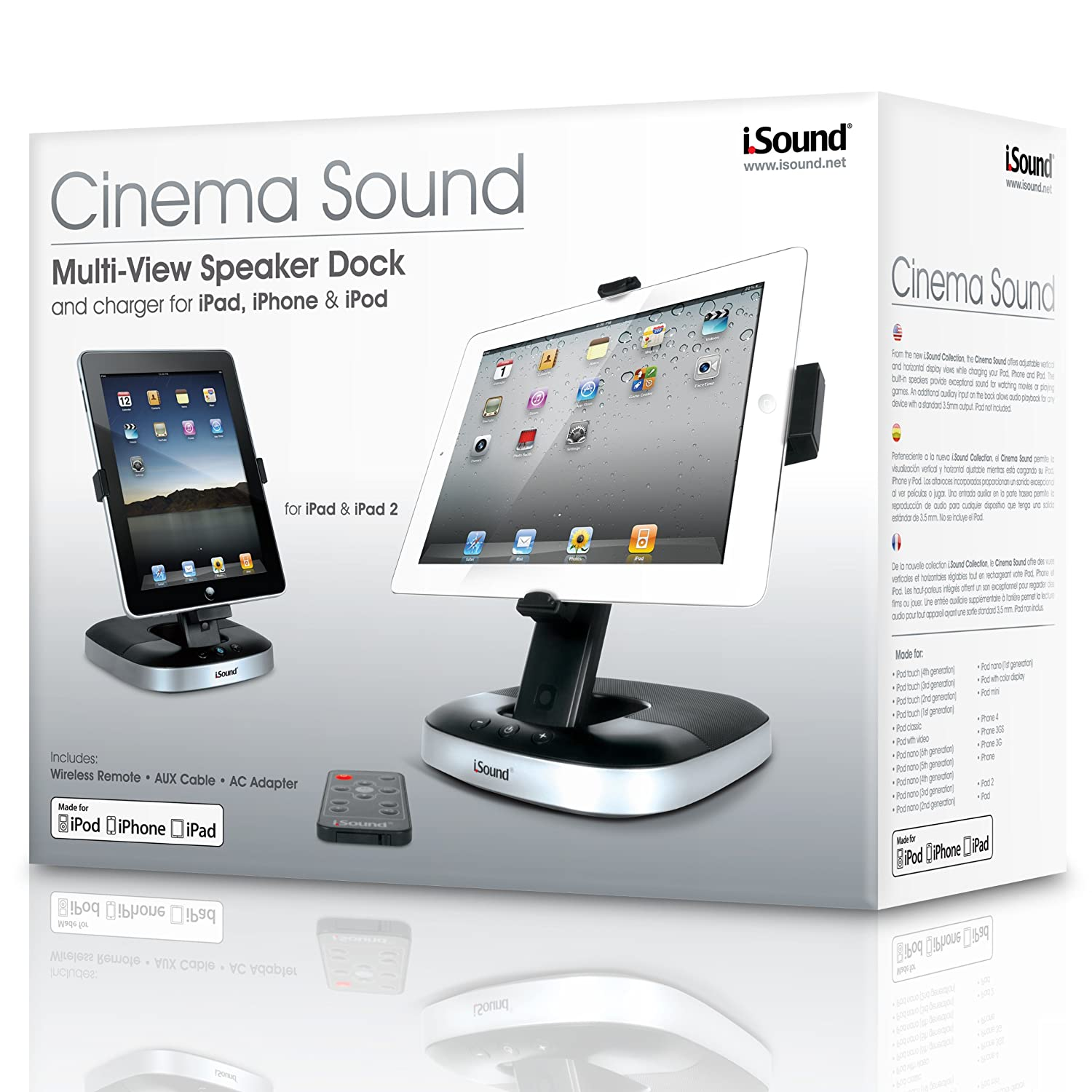 isound ipad dock