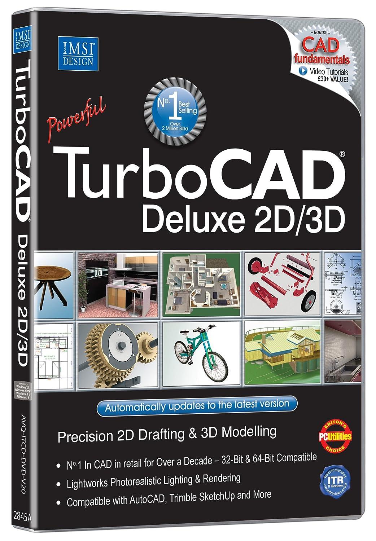 TurboCAD Deluxe v20