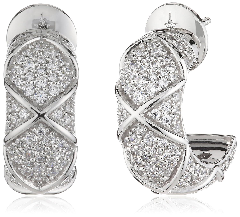 Joop Damen-Creolen 925 Sterling Silber Zirkonia Mosaics weiß JPER90306A000 günstig online kaufen