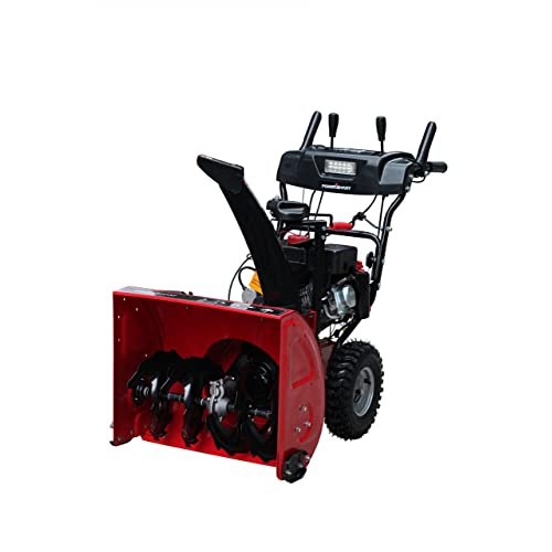 Power Smart DB7103-26 Two Stage Snow Thrower (208cc LCT Snow Engine) 26-Inch Wide