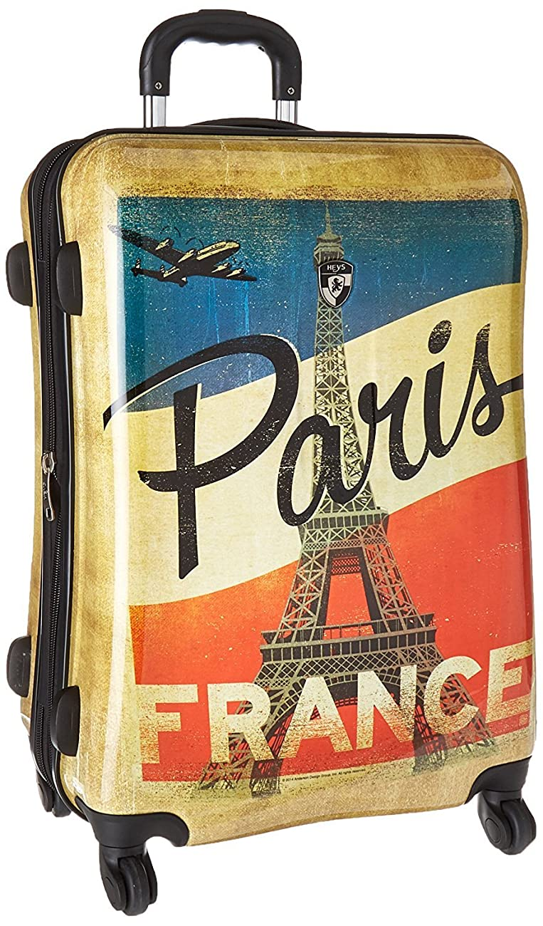 Heys Vintage Traveller-Paris, London & New York-3pc Set 2