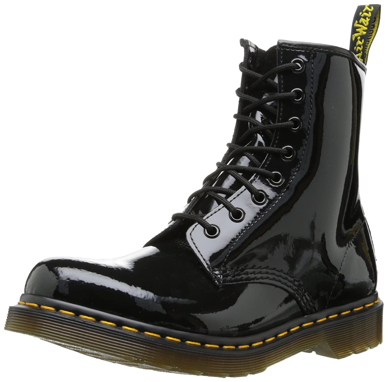 Amazon.co.jp: Dr.Martens ドクター マーチン1460W PATENT LAMPER 8EYE BOOT 8ホール レースアップ ブーツ[color:black] [並行輸入品]: シューズ&バッグ:通販