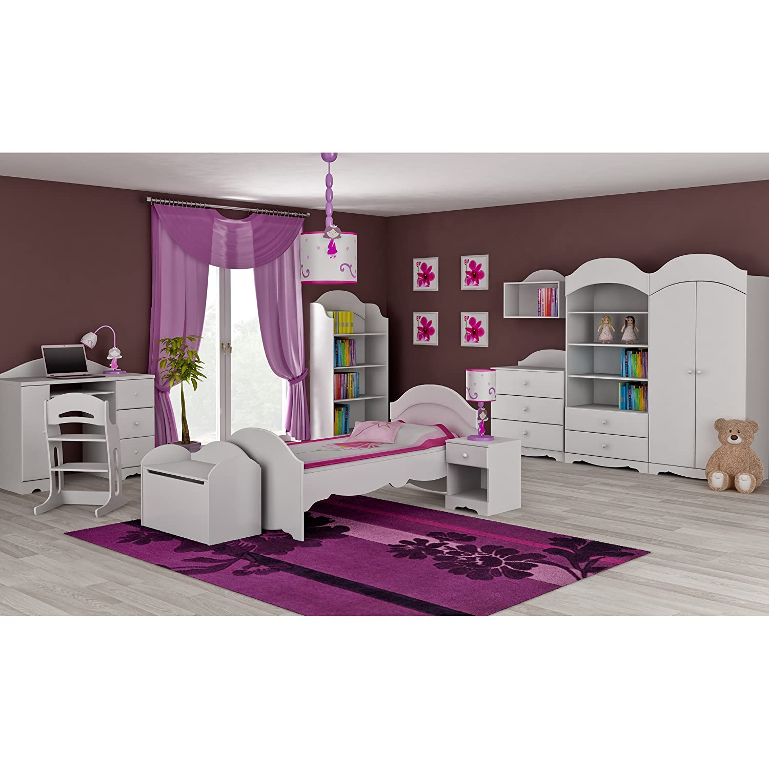 hochbett prinzessin. Black Bedroom Furniture Sets. Home Design Ideas