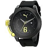 Reloj PUMA PU103781003 Advance, para hombre, análogo, de cuarzo japones, color negro